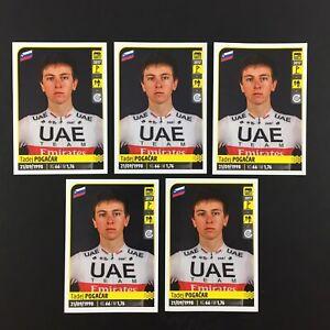 Tadej Pogacar Rookie RC Lot 5 Sticker Panini Tour De France 2020 #369.