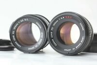 [exc+5] Canon FD SSC S.S.C. 100mm f2.8 SC S.C. 135mm f3.5  2 lens set from JAPAN