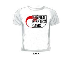 Vintage Gasser/Drag/Nascar/Sprint / Race T-shirt General Kinetics Cams
