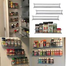Wall Mount Spice Rack Organize Spice Shelf Seasoning Organizer Spice Storage