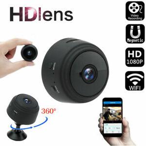 1080P Wireless WiFi CCTV Indoor/Outdoor HD MINI   IP Camera Home Security IR