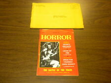 MAGAZINE OF HORROR #30 The Bizarre,The Frightening,The Gruesome 1969
