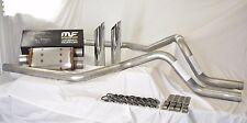 """07-15 Ford F150 F250 Truck 2.5"""" Mandrel-Bent Dual Exhaust Magnaflow Muffler+Tips"""