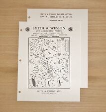 Smith & Wesson  9MM Automatic Pistol Manual - Model 39 - #SW17