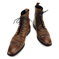 Gucci boots Brown Black Mens Authentic Used T3480