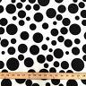 Neoprene Scuba Polka Dot Knit Fabric Polyester Spandex Sold BTY 58'' Wide