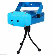 Mini R&G LED Laser Light Projector Stage Light Lighting Party Venue Club - Blue