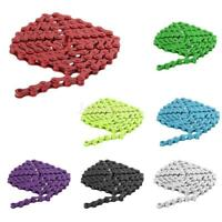 "Colorful Fixed Gear Track Bicycle Chain Single Speed Bike 96 Links 1/2"" x 1/8"""