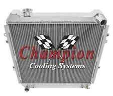 1988-1995 Toyota Pickup/4Runner Champion 3 Row Core Alum Radiator
