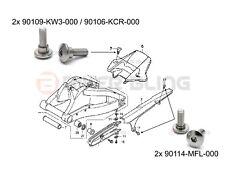 Honda CBR1000RR 2008-2009 rear mudguard fender & chain guard fairing bolts