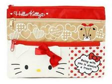 Hello Kitty Triple Zip Case/Pencil case