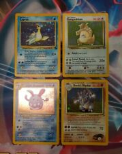 NM/EX Lapras 10/62 Kangaskhan 5/64 Light Azumarill 13/105 Brock's Rhydon 2/132