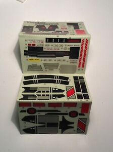 unused JETFIRE STICKER SHEET - G1 Transformers 1985 Vintage Hasbro Action Figure