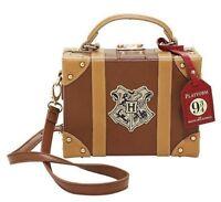 New Harry Potter Hogwarts Train Platform 9 3/4 Trunk Crossbody Handbag Bag Purse