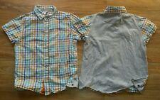kariertes Kurzarm Hemd von Vertbaudet Größe 116 (doppelt vorhanden)