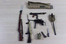 Military 1/6 Scale Dragon 21st Century BBI Action Figure Accessory Lot Guns ++