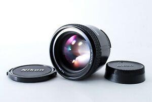 Near MINT Nikon AF Nikkor 85mm f/1.8 Prime Portrait Lens From Japan
