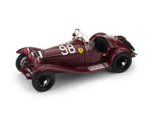 Alfa Romeo 2300 Spider #98 Winner Mille Miglia 1933 Nuvolari BRUMM 1:43 R638