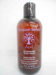 deFabulous Amazon Series NOURISHING BODY WASH for Normal to Dry Skin ~ 8.5 fl oz
