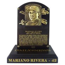 MARIANO RIVERA HALL OF FAME INDUCTION PLAQUE NEW YORK YANKEES HOF SGA 8/17/19