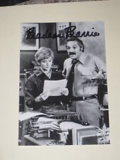 Actress BARBARA BARIE Signed 4x6 BARNEY MILLER Photo AUTOGRAPH