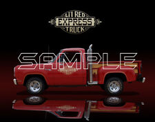 1978 Dodge Express Lil Red Truck Print