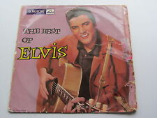 "ELVIS PRESLEY  ORIGINA 1957 UK 10"" LP   BEST OF ELVIS   HIS MASTERS VOICE H.M.V."