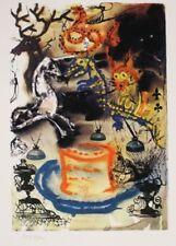 Salvador DALI (d'après) - Alice aux pays des merveilles - Lithographie numérotée