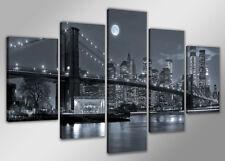 Cuadros en Lienzo + 200 x 100cm USA NYC Nr. 6314 abstracto