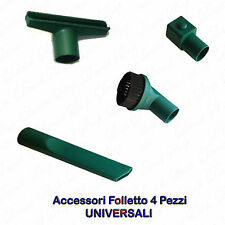 ACCESSORI 4 PEZZI PER VORWERK Folletto VK 130 131 135 136 140 150