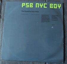 Pet Shop Boys, New York city Boy - the superchumbo mixes, Maxi vinyl Promo