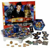 DOCTOR WHO The Time Travelling Action Board Game Brand New And Factory Sealed