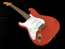 LEFTY! Fender 1962RI Stratocaster Guitar Fiesta Red Left Handed Strat RELIC HSC