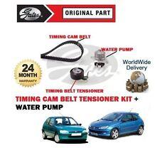 Para Peugeot 106 206 75BHP 1.4 8V 1996 -- > Nuevo Kit Correa De Distribución Cam + bomba de agua
