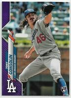 2020 Topps Series 1 Tony Gonsolin Rookie #280 Purple Meijer Exclusive Dodgers RC