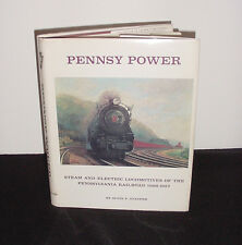 PENNSY POWER by ALVIN F. STAUFER 1ST ED HC 1962 STEAM ELECTRIC LOCOMOTIVES PA RR