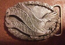 Buckles Of America Preowned Motorcycles Live To Ride Eagle Fashion Belt Buckle