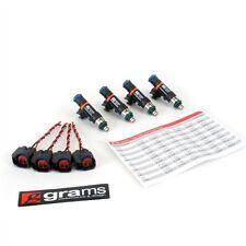 GRAMS 550CC FUEL INJECTOR SET FOR 95-07 MITSUBISHI 4G63T EVO 3-9/ECLIPSE TURBO