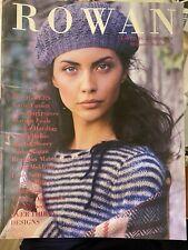 Rowan Knitting Magazine #36 - Over 30 designs.- Very Good- New Condition