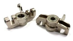 Integy C25334GUN Billet alloy  Machined Steering Block Set for Losi 5ive-T
