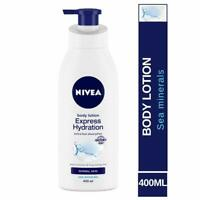 NIVEA Body Lotion, Express Hydration, For Normal Skin, For All Skin Types, 400ml
