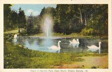 Owen Sound Ontario Harrison Park - Unused - Colored - Very Good