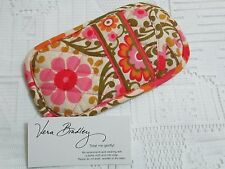 Vera Bradley FOLKLORIC Double Eye EYEGLASSES Sunglasses CASE for PURSE Tote NWOT