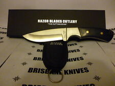Razor Blades The Elite Hunter Skinning Hunting Camping Knife. Bowie