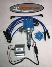 FORD 300 / 240 I6 4.9L Small Cap BLUE HEI DISTRIBUTOR + 60K COIL & WIRES - USA