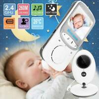 Wireless Digital Babyphone Kamera Farbe Video Monitor Nachtsicht Babypflege Lcd