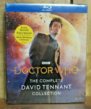 New - Doctor Who: The Complete David Tennant Collection Blu-ray - Sealed