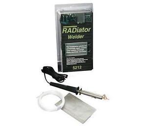 Plastic Welder PLASTIC RADIATOR REPAIR KIT 5212