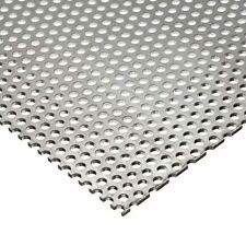 """316 Stainless Steel Perforated Sheet .060 (16 ga.)"""" x 12"""" x 12"""" - 3/32 holes"""