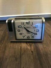 Vintage 1980's Timex Bedside Snooze & Light  Alarm Clock